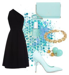 """#1 L"" by sophyaaa on Polyvore featuring Kate Spade, Preen, ShoeDazzle, Essie and Calvin Klein"