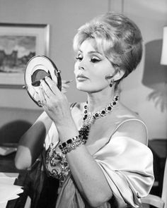 "Zsa Zsa Gabor's Quote #10: ""Being jealous of a beautiful woman is not going to make you more beautiful."""