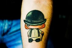 La película de los rebeldes, estandarte del desorden juvenil tiene algunos grandes diseños para que te tatúes. Tatuajes de la naranja mecánica.