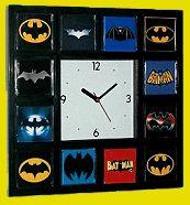 Best History of Batman Clock Bat Signal Movie TV Comics with 12 classic logos I Am Batman, Batman Logo, Batman Stuff, Superman, Lego Batman, Batman Signal, Batman Bedroom, Superhero Room, Movie Tv