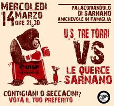 Amichevole in Famiglia!!!  US Tre Torri vs Le Querce Sarnano