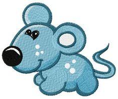 Tiny mouse machine embroidery design. Machine embroidery design. www.embroideres.com