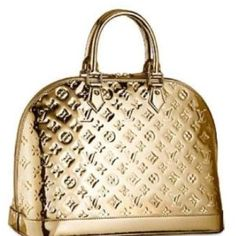 Golden Louis Vuitton to blend in with the nuveau riche brand whores.