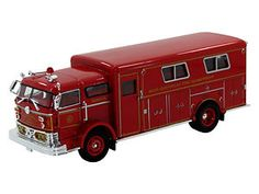 New 1960 Mack C Rescue Fire Truck Engine 1 32 Scale | eBay