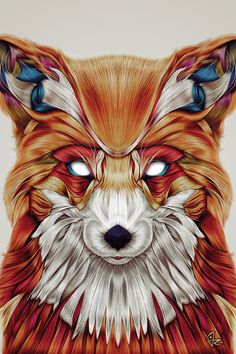 Firefox by Giulio Rossi - canvas print