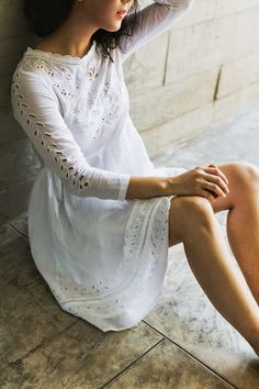 Serenite Lace Dress by Bonheur