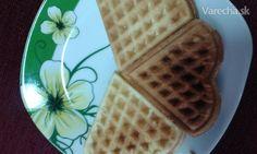 Chrumkavé wafle - recept   Varecha.sk Waffles, Breakfast, Food, Morning Coffee, Essen, Waffle, Meals, Yemek, Eten