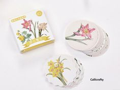 40 pcs Flower Leafy Japanese Planner Stickers Decorative