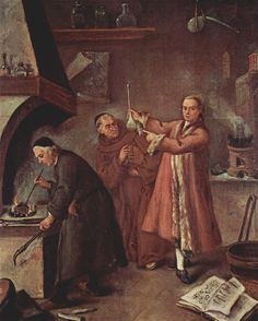 El alquimista de Pietro Longhi