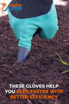 Claws Garden Gloves 😍 Claws Garden Gloves 😍 This specialized pair of gardening gloves make the digging and turning of soil fast and easy, without [. Garden Crafts, Garden Projects, Garden Tools, Garden Supplies, Diy Projects, Home Gadgets, Gadgets And Gizmos, Gardening Gloves, Gardening Tips