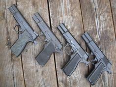 Handgun, Firearms, Bowie Knives, Shooting Guns, Top Gun, Military Equipment, Guns And Ammo, Browning, Rifles