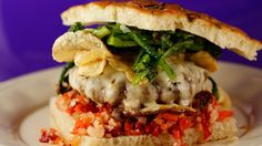 Italian Sausage Burgers with Provolone and Broccoli Rabe - See more at: http://www.rachaelrayshow.com/food/recipes/18512_italian_sausage_burgers_with_provolone_and_broccoli_rabe/index.html#sthash.Nz1g7MmV.dpuf