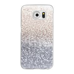 Samsung Galaxy / LG / HTC / Nexus Phone Case - SILVER Galaxy S6 by... ($40) ❤ liked on Polyvore featuring accessories, tech accessories and android case