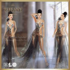 https://flic.kr/p/w7z5pL | TD Maysa Sensual Dress with Appliers | marketplace.secondlife.com/p/TD-Maysa-Sensual-Gown-24H-Pr...?  maps.secondlife.com/secondlife/Leenas%20Retreat/133/195/21