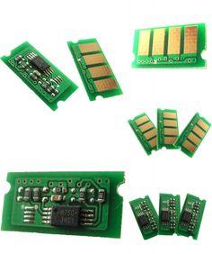 [Visit to Buy] compatible color cartridge spaer parts refilled for Smart toner CHIP For Ricoh Aficio SP C220 C222 laser printer #Advertisement