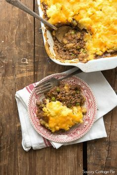 A healthy version of Savory Cottage Pie. Comfort food that's good for you too!