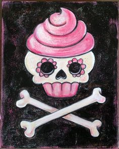 ice cream skull - Google Search