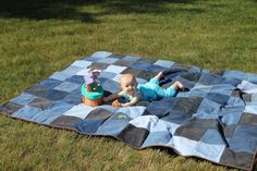 Jean Quilt – Outdoor Picnic Quilt | Awaiting Ada