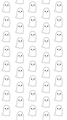 Cute Ghosties Wallpaper