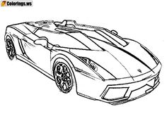 36 Best Car Coloring Pages images   Cars coloring pages, Coloring ...