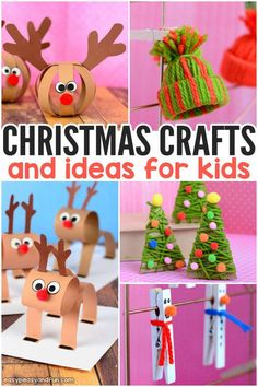 Festive Christmas Crafts For Kids - Tons Of Art And Crafting Ideas . Festive Christmas Crafts for Kids - Tons of Art and Crafting Ideas diy christmas crafts for kids - Diy Christmas Arts And Crafts, Christmas Crafts For Toddlers, Easy Arts And Crafts, Winter Crafts For Kids, Preschool Christmas, Christmas Ornament Crafts, Christmas Projects, Diy Crafts For Kids, Kids Christmas
