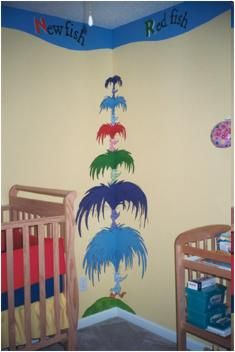 180 Best Seuss Nursery Images Dr Seuss Mural Babies Rooms Baby Room