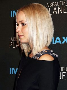 Jennifer Lawrence at the premiere of 'A Beautiful Planet'