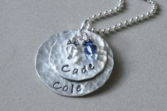 Mommy Jewelry  Personalized Sterling Silver by ChristinaGuenther