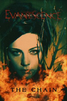Fan Poster Evanescence The Chain Gears of War 5 Fleetwood Mac cover Bring Me To Life, Amy Lee Evanescence, Fan Poster, Gears Of War, Fleetwood Mac, Metalhead, Darkness, David, Wall Decor