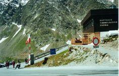 Passo del Rombo (2941 m) - Valico tra Italia e Austria