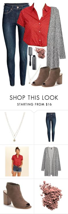 """Jessica Davis (13 Reasons Why) inspired outfit"" by celebgaze ❤ liked on Polyvore featuring LC Lauren Conrad, Hollister Co., Apt. 9, Chantecaille and Bobbi Brown Cosmetics"