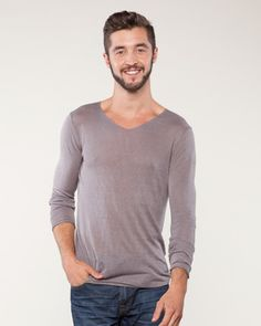 V-Neck Collar Sweater