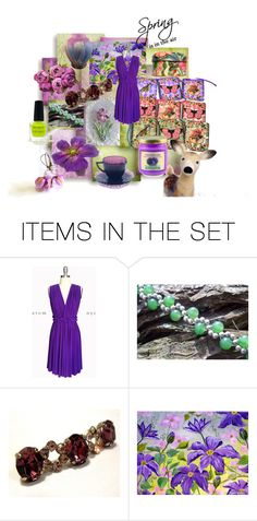 """""""Fresh Spring Finds"""" by woeste ❤ liked on Polyvore featuring art and Spring"""