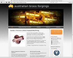 Australian Brass Forgings - Custom Brass Forgings and Precision CNC Machined Parts. Melbourne.