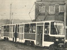 Kloubová tramvaj KT 4D - Tatra Praha