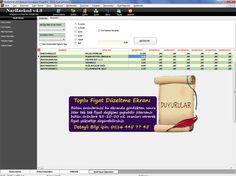 toplu fiyat NarBarkod Ekran Görüntüleri