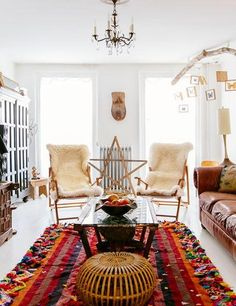 Love bohemian design? Here's your guide to cool and collected decorating