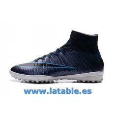 … Zapatos Nike Mercurialx Zapatillas de Fútbol Nike botas de Fútbol nike mercurialx proximo cr tf azul …