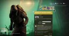 Where's Xur and What's Xur Selling in 'Destiny 2': September 15th - Rolling Stone