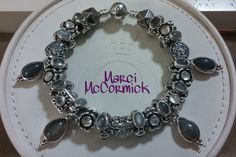 My Pandora Moonstone bracelet