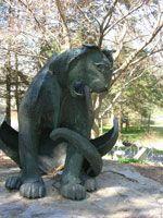 Nittany Lion by Elios Kyriokos:  Welded Steel