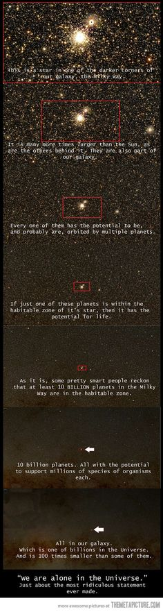 We are alone in the universe?
