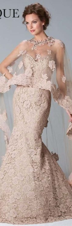 Janique Couture 2013 via Sheer Delight