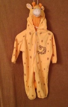 Fleece Giraffe costume sz 2t for boy or girl. 14.95@ebay
