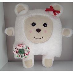 $50.00 OOAK Handmade Holly Christmas Bear by Gelati on Handmade Australia