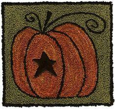 Pumpkin Panache & Button by Artful Offerings by Artful Offerings ~ Karina Hittle