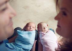 Ideias para fotografar Gêmeos