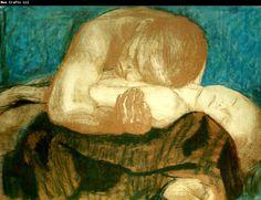 Kathe Kollwitz, 'Pieta' (1903)