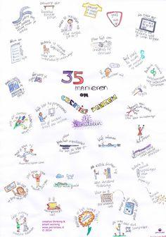 35 manieren om creatief denken te stimuleren