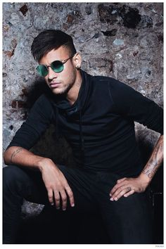 Neymar Jr. Fronts Police Spring/Summer 2015 Eyewear Campaign